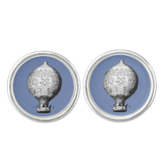 Montgolfier Vintage Hot Air Balloon Cuff Links