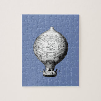 Montgolfier Vintage Hot Air Balloon Jigsaw Puzzle