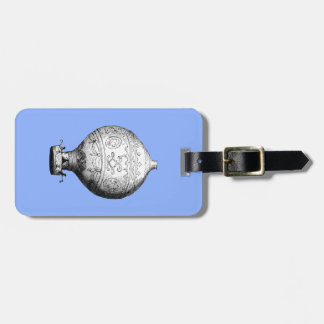 Montgolfier Vintage Hot Air Balloon Luggage Tag