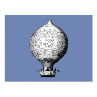 Montgolfier Vintage Hot Air Balloon Postcard