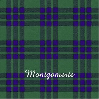 Montgomerie clan Plaid Scottish tartan Photo Sculpture Keychain
