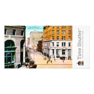 Montgomery and Market St Picture Card