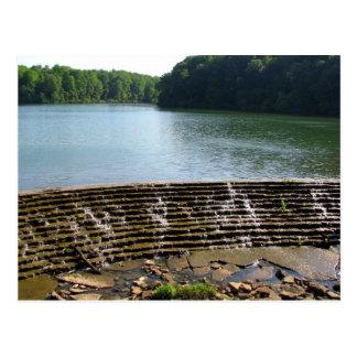 Montgomery Bell State Park Spillway Dam Postcard