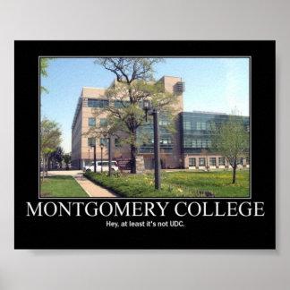 Montgomery Colledge Poster