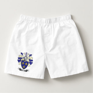 Montgomery Family Crest Coat of Arms Boxers