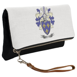 Montgomery Family Crest Coat of Arms Clutch