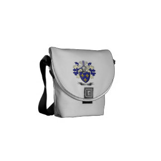 Montgomery Family Crest Coat of Arms Courier Bags