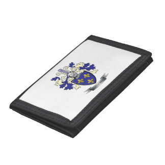 Montgomery Family Crest Coat of Arms Tri-fold Wallet