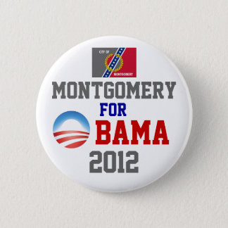 MONTGOMERY for Obama 2 Inch Round Button
