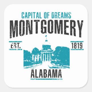 Montgomery Square Sticker
