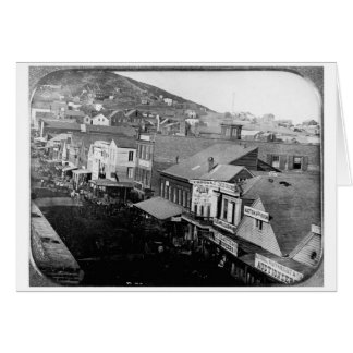 Montgomery Street San Francisco California 1850 Card