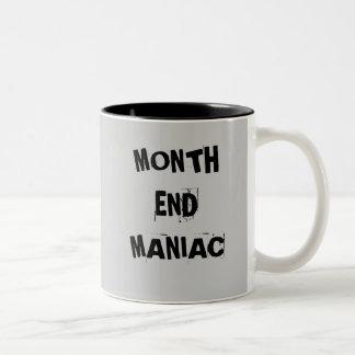 Month End Maniac - Mad Accountant Mug