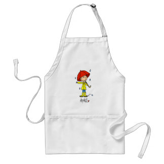 Month of April Standard Apron