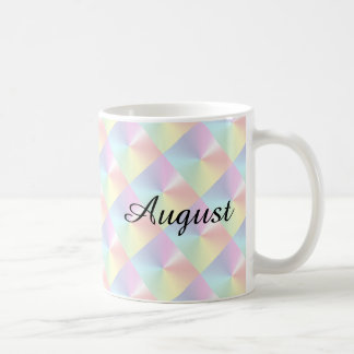 Month of August Diamond Shimmer Coffee Mug by Janz