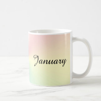 Month of January Shimmer Coffee Mug by Janz