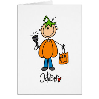 Month of October Card