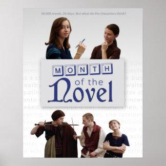 Month of the Novel Season 1 Poster