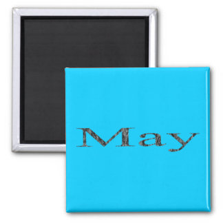 Months of the Year - May Magnet