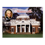 Monticello, Jefferson's Home, Virginia Postcards