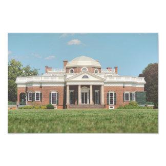 Monticello Photo Print