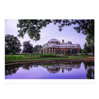Monticello Reflection Postcard