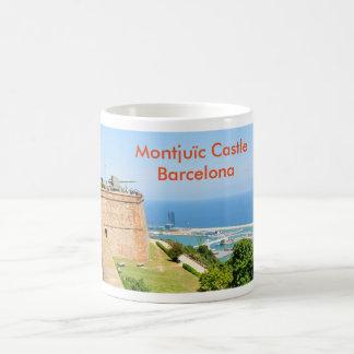 Montjuic castle, Barcelona Coffee Mug