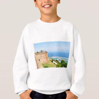Montjuic castle, Barcelona Sweatshirt