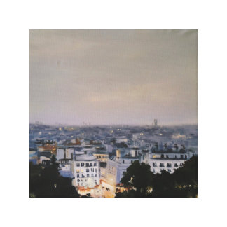 Montmartre at Dusk Canvas Print