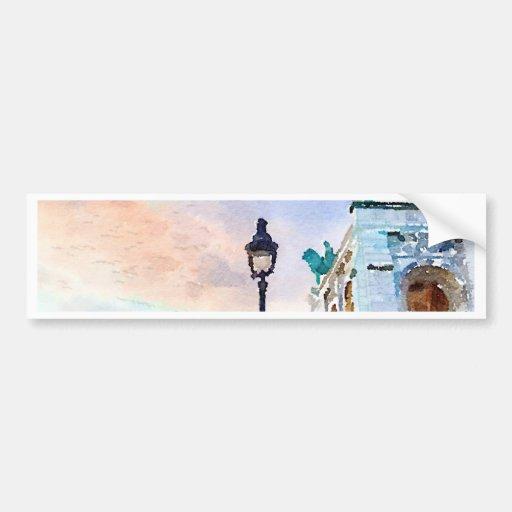 Montmartre Bumper Stickers