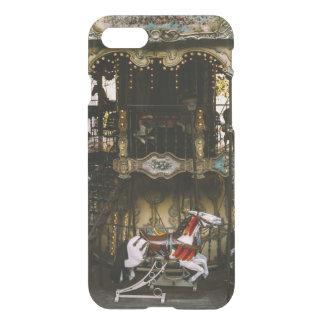 Montmartre Carousel, Paris Travel Photograph iPhone 7 Case