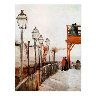 Montmartre (F272) Van Gogh Fine Art Postcard