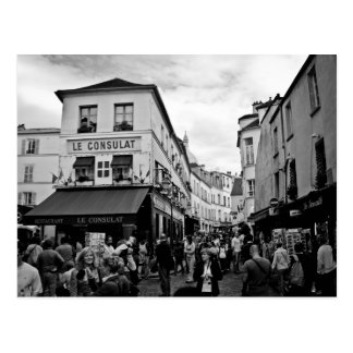 Montmartre, Paris Postcard