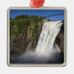 Montmorency Falls near Quebec City. Christmas Tree Ornaments
