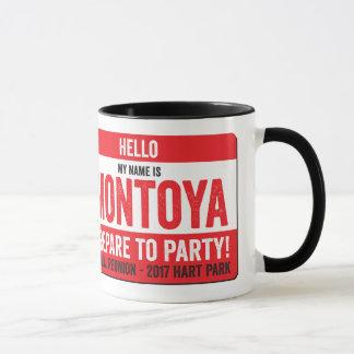 Montoya Reunion 2017 - Repare to Party! Mug