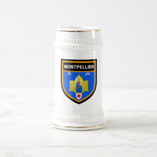 Montpellier Flag Beer Stein