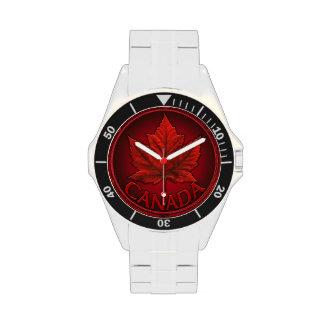 Montre-bracelet canadienne de souvenir de drapeau  montres bracelet