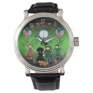 Montre de la partie de nouvelle année montres bracelet