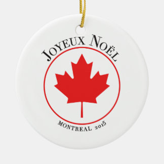 Montreal 2015 Christmas Ornament
