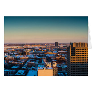 Montreal 2 greeting card