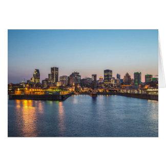 Montreal 3 greeting card