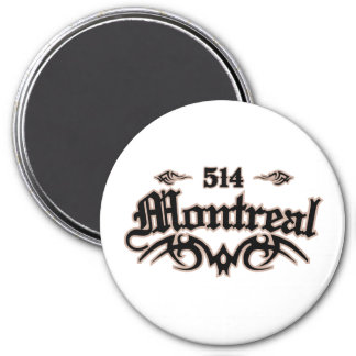 Montreal 514 magnet