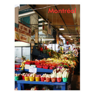 Montreal Atwater Market Postcard