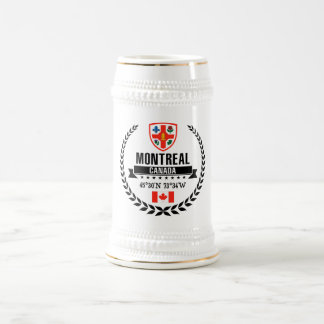 Montreal Beer Stein