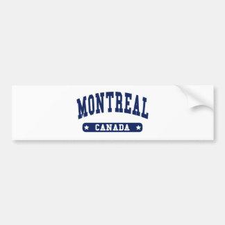 Montreal Bumper Sticker