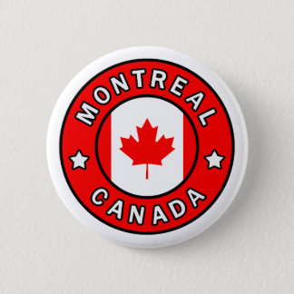 Montreal Canada 2 Inch Round Button
