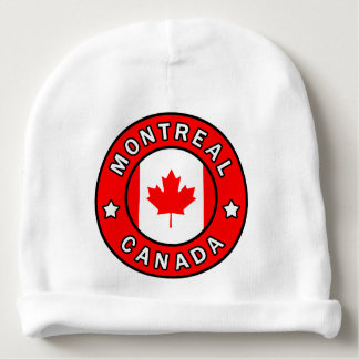 Montreal Canada Baby Beanie