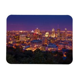 Montreal Canada City Skyline Belvedere Kondiaronk Magnet