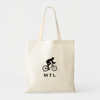 Montreal Canada Cycling MTL Tote Bag