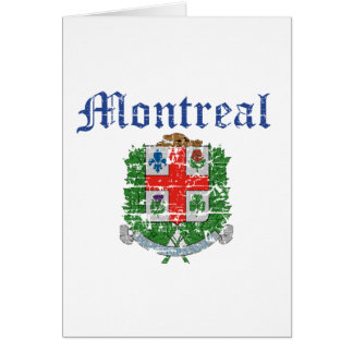 montreal Canada designs Greeting Card