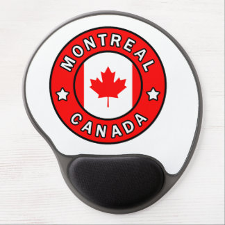 Montreal Canada Gel Mouse Pad